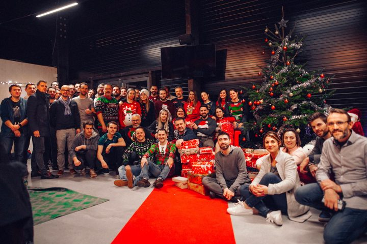 Journée Noël d'entreprise du Groupe Pandora